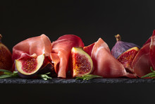 Figs With Prosciutto And Rosem...
