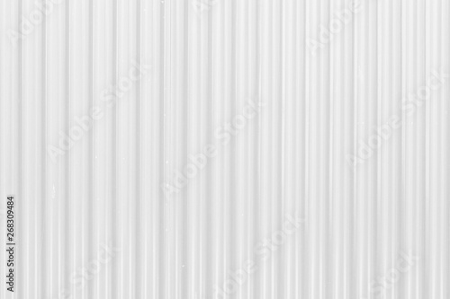 Foto  White zinc plate texture and background