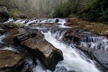 Cascades On Big Panther Creek