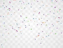 Bright Colored Confetti Backgr...