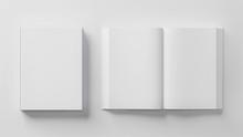 Blank Book Template For Presen...