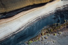 Stratum Of Earth Crust In Cros...