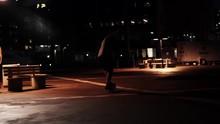 A Man Manual Skateboarding (tw...