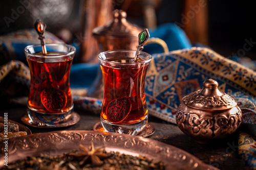 Black Turkish tea #268338881