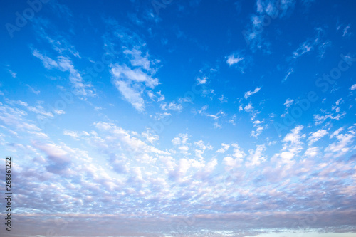 Fotografie, Tablou  Morning Cloud sky at wildlife sanctuary name Doi Luang Chiang Dao, Thailand with Shadow of mountain layer and sun ray