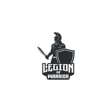 Legion Of Warrior With Sword A...
