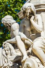 Pradier Fountain At Esplanade ...