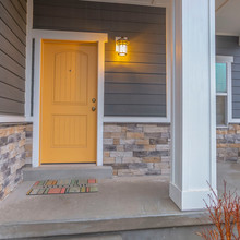 Square Entryway Of A Home With...