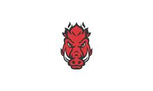 Red Hog Illustration