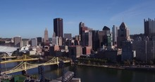 Downtown Pittsburgh Pennsylvan...