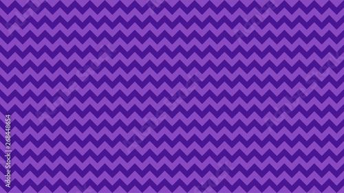 Valokuvatapetti serrated striped purple color for background, art line shape zig zag purple colo