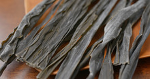 Pile Of Japanese Dry Konbu