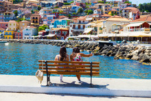Parga City Greek Summer Touris...