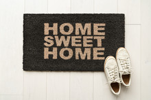 Home Sweet Home Door Mat At Ho...