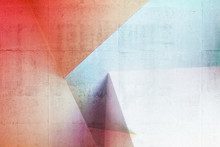 Abstract Architectural Colorful Pattern