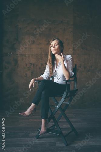 Photo  An actress