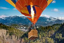 Passengers Into Hot Air Balloo...