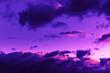 Leinwandbild Motiv Sky with dramatic clouds