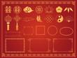 中華模様 素材集2