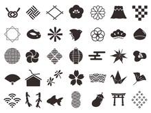 日本和柄 アイコンセット2
