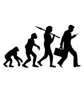 Evolution Entwicklung Telefon ...