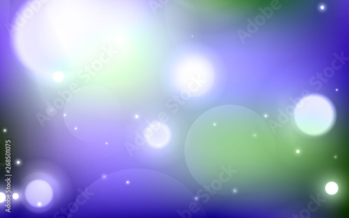 Garden Poster Heaven Abstract background with blurred circles