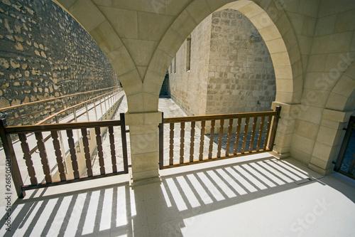 Foto op Canvas Trappen Saint Neophytos Monastery in Cyprus