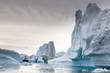 canvas print picture - Die Wildnis Grönlands