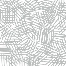 White Abstract Background With Large Gray Hatching. Marker, Pencil, Pen Strokes Effect. Geometric Pattern For Fabric, Textile, Print, Design, Surface, Cover, Fashion Ideas.