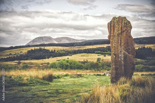 Fotografia, Obraz Machrie Moor standing stones, Isle of Arran, Scotland.