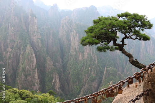 Obraz The Scenic Hills of HuangShan - fototapety do salonu