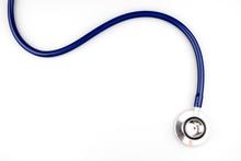 Blue Stethoscope With Shadow I...