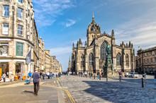 St Giles Cathedral In Edinburgh , Scotland