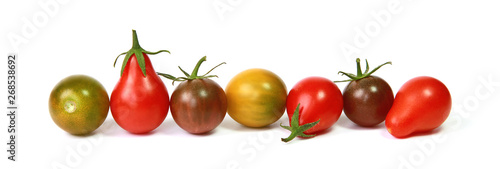 Tomates cerise Canvas Print