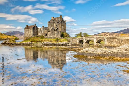 Fotografie, Obraz  Eilean Donan Castle in Dornie in the Scottish Highlands, Scotland