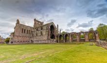 Melrose Abbey In The Scottish Borders, Scotland