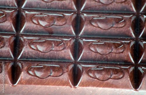 Photo bar of  brown chocolate