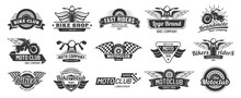Biker Club Emblems. Retro Moto...