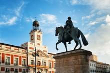 Madrid Puerta Del Sol King Car...
