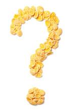 Yellow Corn Flakes Symbol Ques...