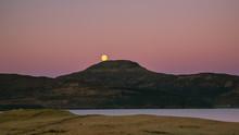 Full Moon Over Mountains - Isl...