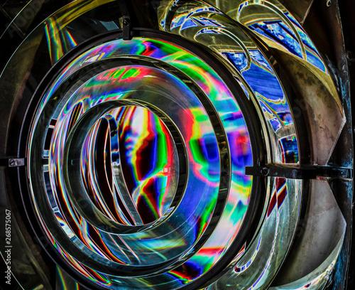 Fotografie, Tablou  Fresnel Lens