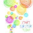 Handwriting text Start Your Story Today. Conceptual photo work hard on yourself and begin from this moment
