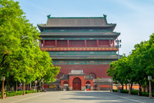 Bell Tower And Drum Tower Of Beijing