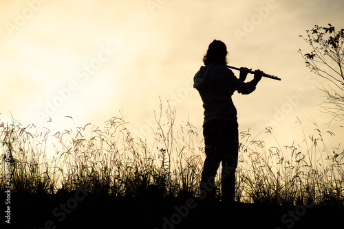 Poster Chasse backlit piper