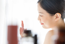 Young Asian Female Makeup Beau...