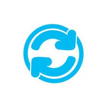 Cute Rotation Mix Arrow Symbol Vector