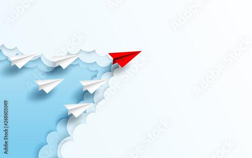 Obraz na plátně Business  leadership ,financial concept