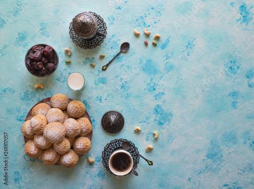 Fotografija Ramadan sweets background