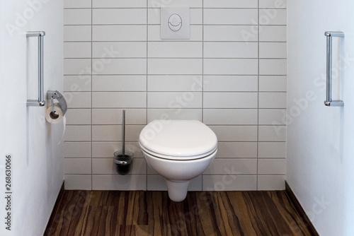 WC, Toilette, seniorengerecht Canvas Print